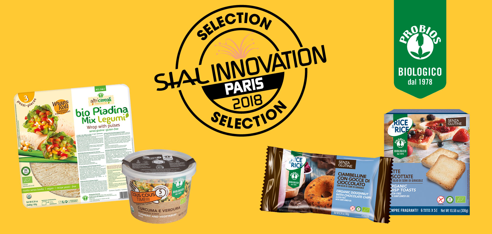 Probios products selected at SIAL INNOVATION AWARD 2018